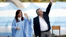 """Cristina salió al cruce de críticas y aseguró que el jefe del Estado """"no es un títere""""."""