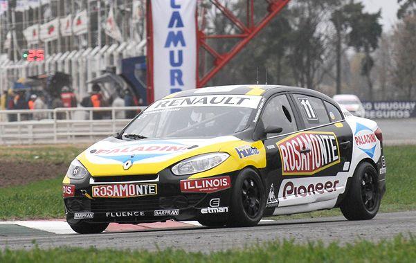 De vuelta. El campeón 2011 hizo ruido al fin con un Fluence poco confiable y marcó la pole. Liderará la primera serie.