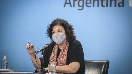 Vizzotti dijo que Argentina vive el peor momento y el de más riesgo de la pandemia