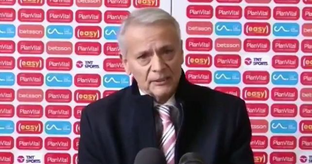 Castrilli es el presidente del arbitraje de la Federación Chilena de Fútbol