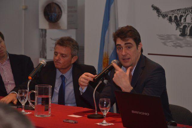 presentación. Iguacel presentó el Plan Vial Federal ante constructores locales.