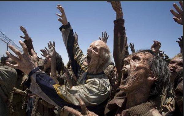 Miembros del Ejército de EEUU realizaron un ejercicio donde los enemigos eran zombies.