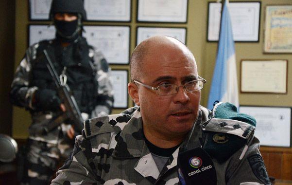Adrián Forni es comisario y tiene 21 años de servicio en la policía provincial. (foto gentileza El Ciudadano)