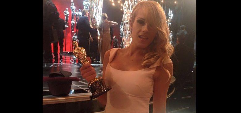 Conocé a la novia travesti del ganador argentino del premio Oscar