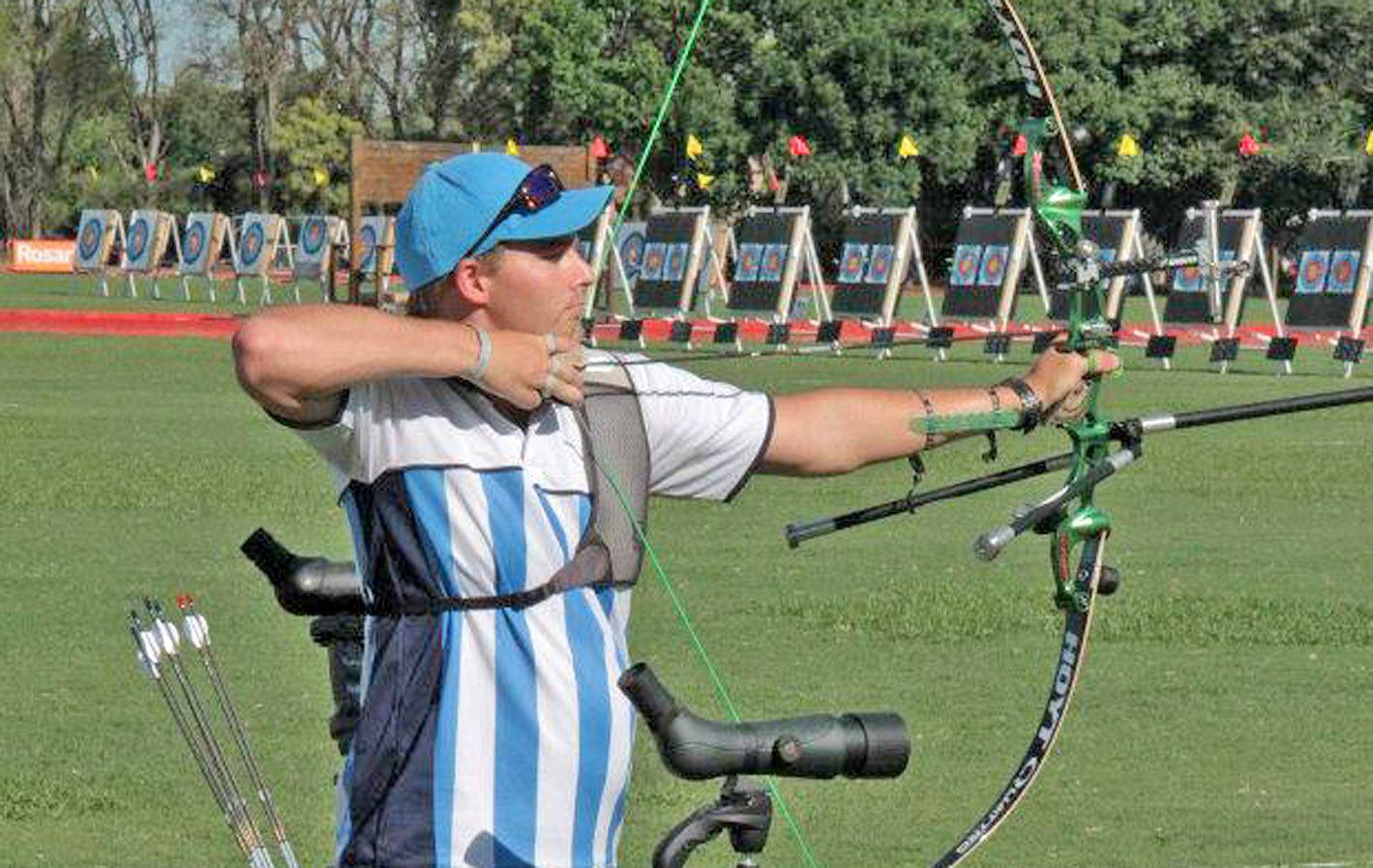 Concentrado. Gerardo Bog fue uno de los argentinos en el campeonato.