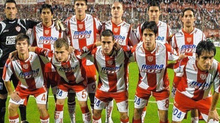 El equipo de Unión que hace 10 años ascendió a Primera División en el 15 de Abril.