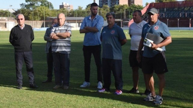 Directivos y entrenadores: Trabajaron y armaron un plantel para apuntar al 2º ascenso a la Primera B.