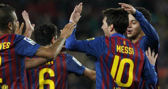 Messi tiene fiebre y no jugará contra Osasuna por la Copa del Rey