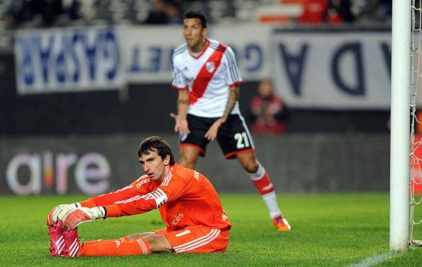 El arquero y capitán de River Plate