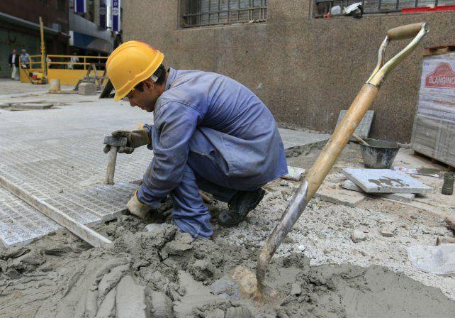 Expectativas. La construcción fue uno de los sectores que impulsó el leve rebote del segundo trimestre.