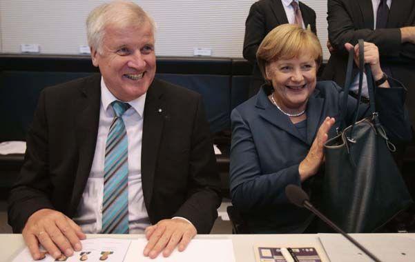 Póker político. Merkel y el premier de Bavaria