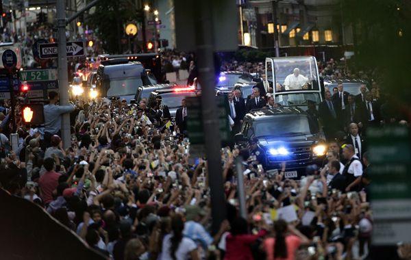 El Sumo Pontífice argentino pasará 36 horas en Nueva York