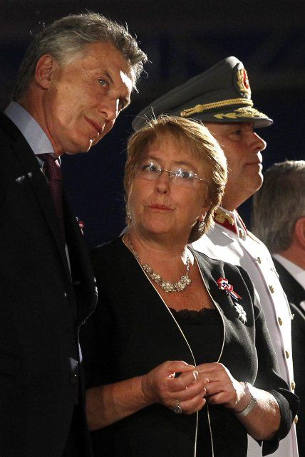 Coincidencias. Macri y Bachelet hablaron de destino común.