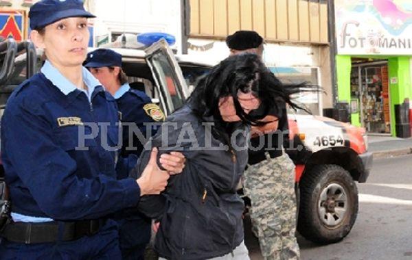 La acusada del crimen fue detenida hoy en la localidad de Las Vertientes