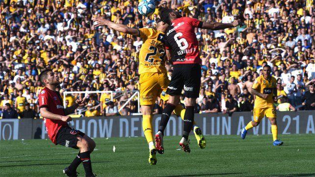 Newells y Central jugaron con público por última vez 15 de septiembre de 2019.