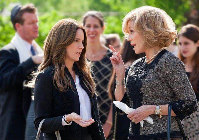 Tina Fey y Jane Fonda