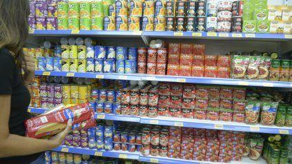 La inflación en alimentos y bebidas en la provincia fue de 4,5% en abril.