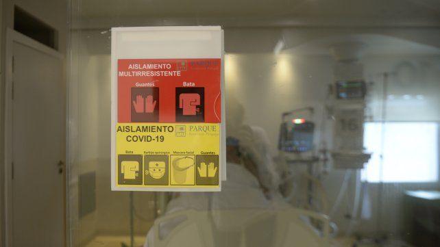 Terapia intensiva (UTI) . Covid - 19 . Coronavirus. Pandemia.  Sanatorio Parque