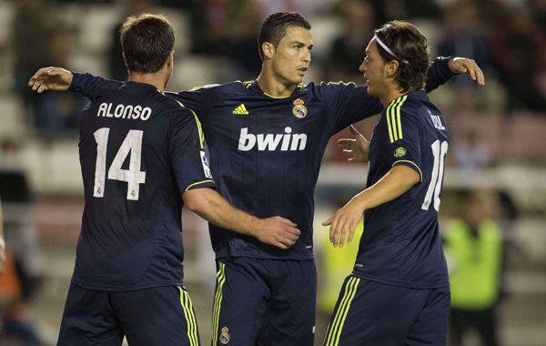 Cristiano Ronaldo festeja su gol