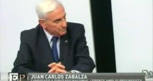 Zabalza: El justicialismo no va a acompañar ningún cambio serio