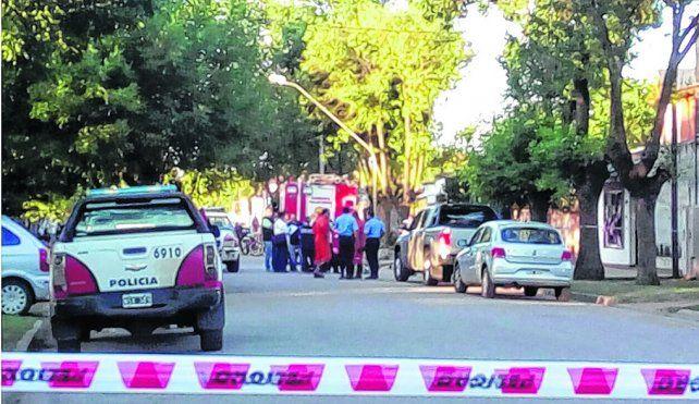 Hallazgo. El cuerpo del camionero casildense fue hallado en un pozo de una vivienda de Arias.