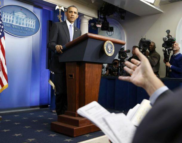 Escuchas. Obama habló a la prensa sobre la recolección masiva de datos.