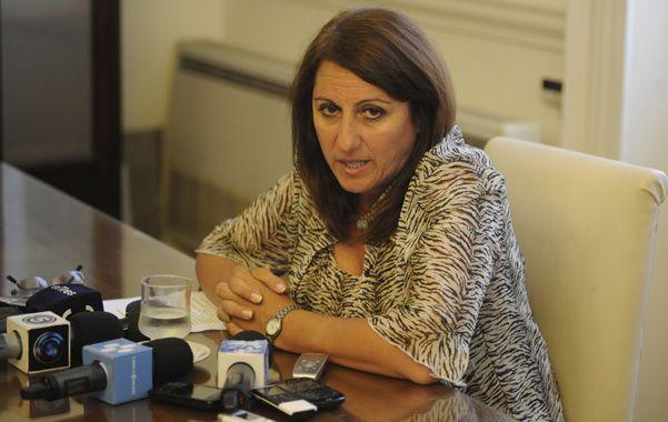 La socialista volvió a la Intendencia y disparó críticas al gobierno nacional y al PJ. (Foto: H. Rio)