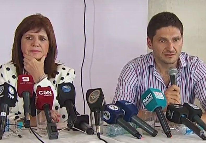 Pullaro apuntó contra las autoridades del gobierno nacional por la detención de los prófugos del triple crimen.