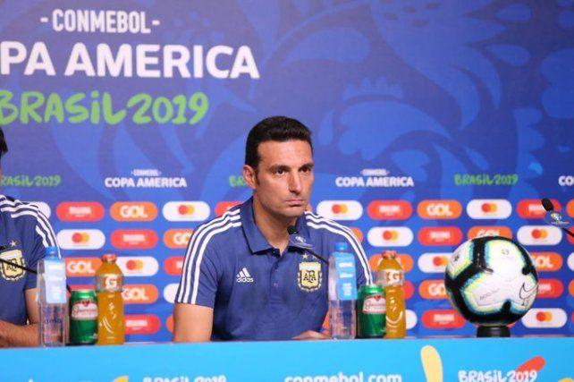 Scaloni: El equipo perdió el miedo y se animó a jugar