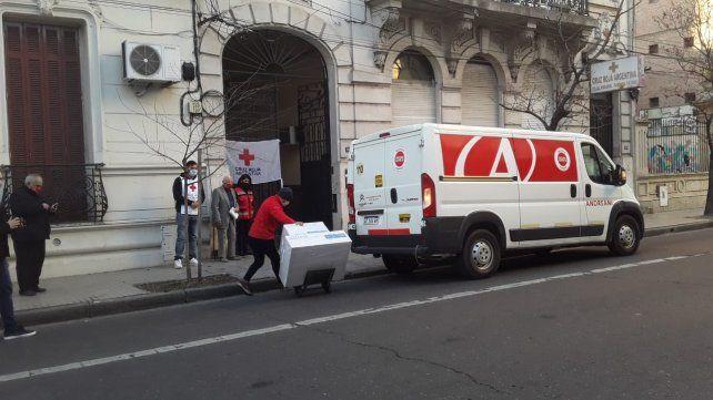 Donación Respiradores Cruz Roja