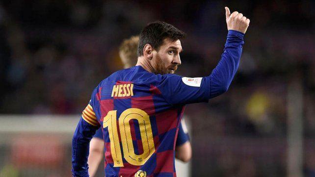 Messi se va del Barcelona. Tembaderale en la entidad culé.