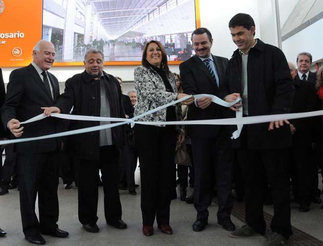 Las obras de ampliación y modernización empezaron a ejecutarse en el año 2010. (Foto gentileza: Municipalidad Rosario)