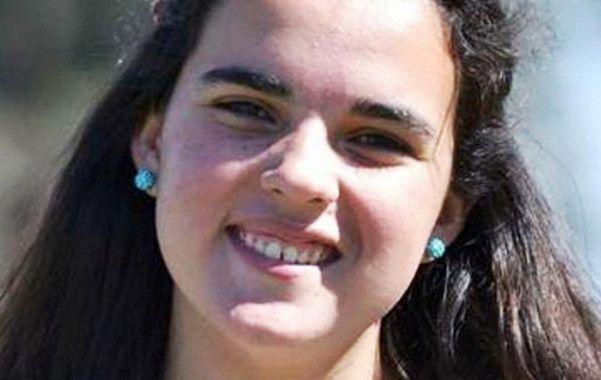 La víctima. Chiara tenía 14 años recién cumplidos y cursaba un embarazo de 8 semanas.