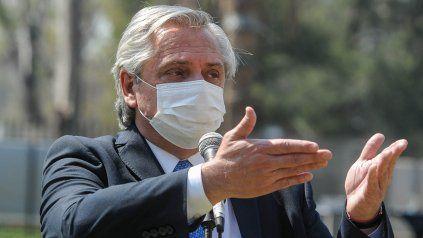 Cuidados. El presidente necesita que los gobernadores peronistas lo respalden con medidas.