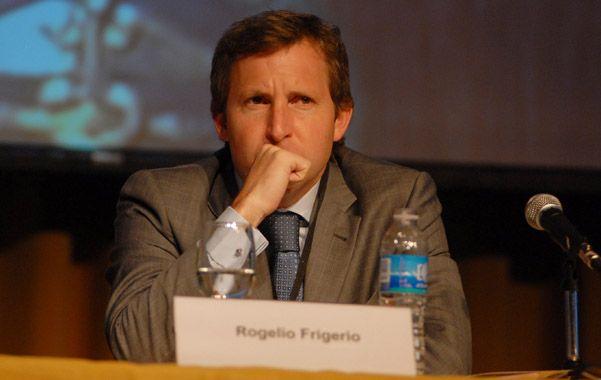 Paritarias. Rogelio Frigerio avizora una negociación difícil en las provincias.