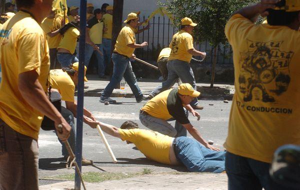 Cornejo cayó malherido en San Luis al 3300 y murió poco después. Fue en diciembre de 2008. (Foto de archivo: A. Amaya)