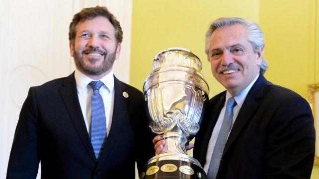 Alberto Fernández puso en duda la Copa América por la pandemia