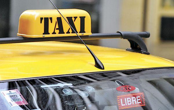 Apuntados. Es el segundo ataque de un taxista con armas en pocos días.