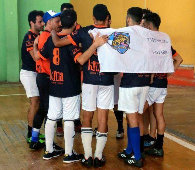 El equipo de futsal de Yaguaretes deberá defender la localía ante sus pares de otras provincias.