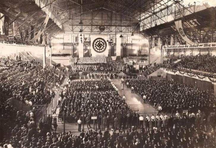 El acto del 10 de abril de 1938