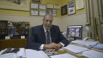 Mario Gimmaría. El presidente de la Asociación Rosarina de Fútbol resolvió que los clubes no paguen los aranceles en el Gobernador Molinas, la Pinasco y la Reyna.