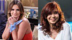 Amalia Granata disparó munición gruesa contra Cristina Fernández de Kirchner.