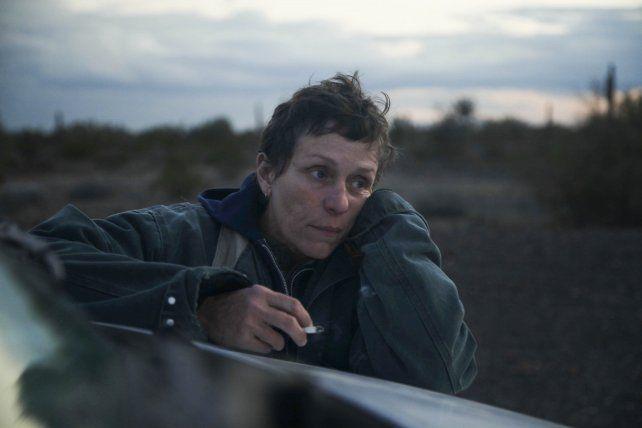 Frances McDormand interpreta a una nómade estadounidense.