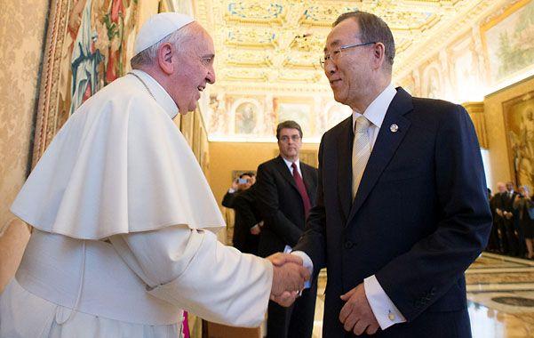 Por los desposeídos. Francisco y Ban Ki-Moon