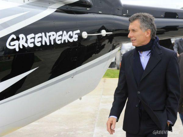 Greenpeace cuestionó las primeras medidas del gobierno nacional.