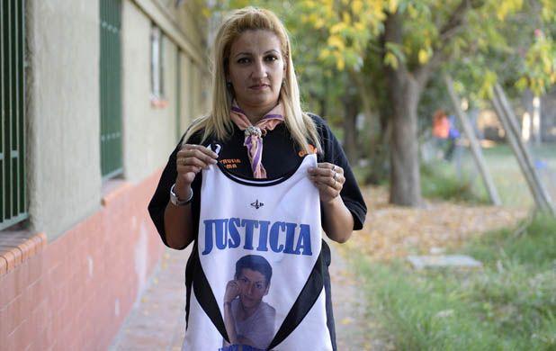 Alicia miranda. La mamá de Leonel González y un reclamo de justicia.