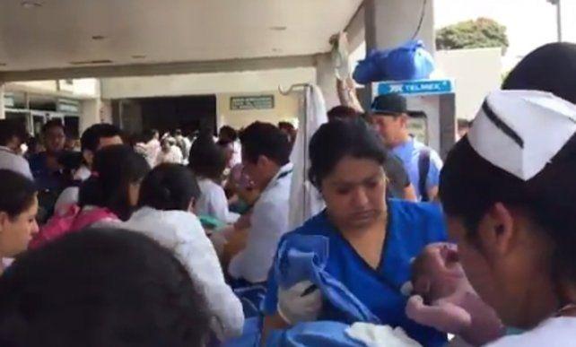 El momento del nacimiento del Ángel de Morelos.
