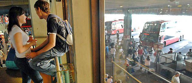 La estación porteña de Retiro fue el lugar al que Gabriel llegó el viernes en busca de ayuda. Desde allí los efectivos de Gendarmería llamaron al padre y a la comisaría 8ª