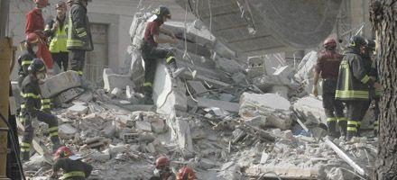 Terremoto en Italia: una mujer de 98 años sobrevivió entre los escombros