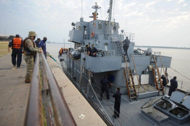 ARA King, un histórico buque patrullero que hoy realiza apoyo logístico
